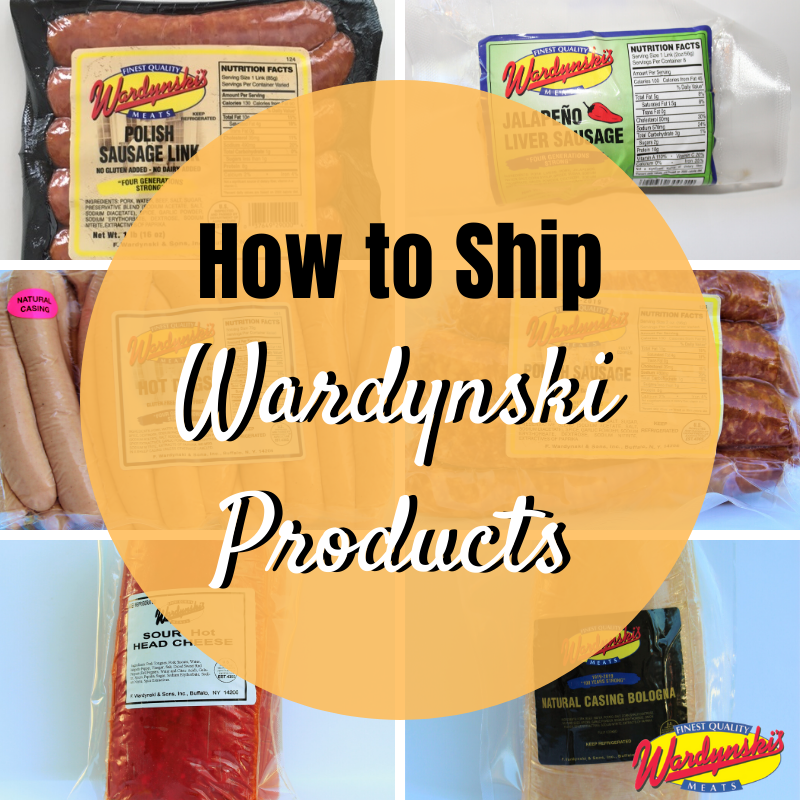How to Ship Wardynski Products Buffalo, NY