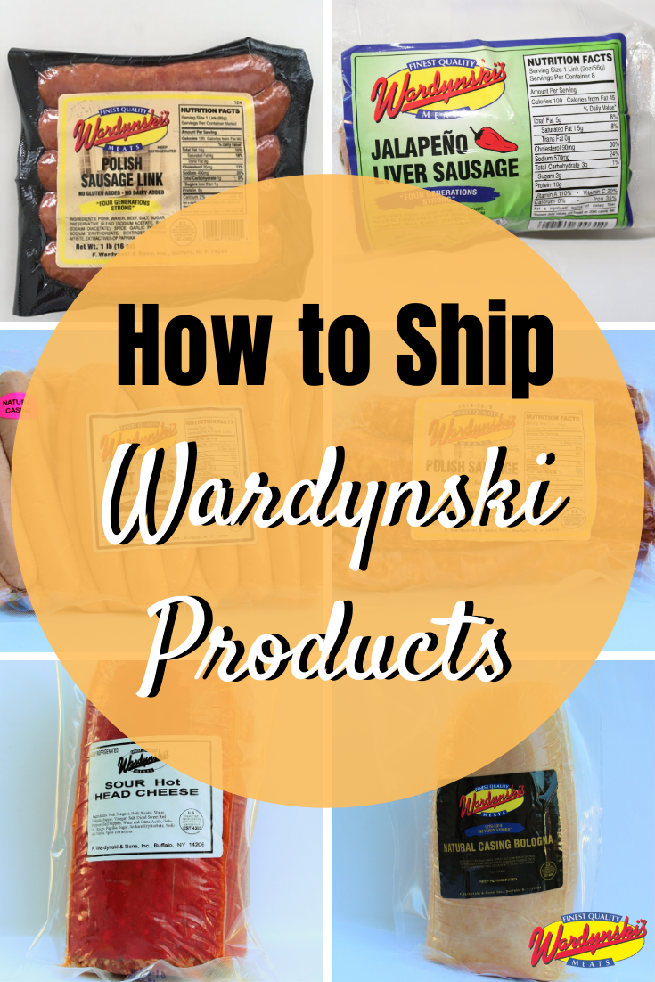 Learn how to ship Wardynski products if you live out of state!