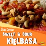 sweet and sour kielbasa