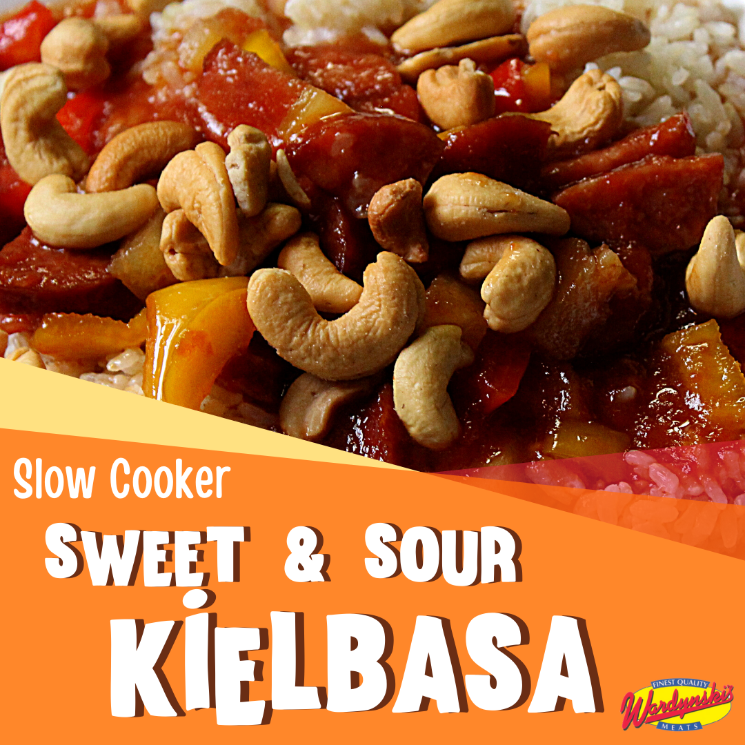 sweet and sour kielbasa