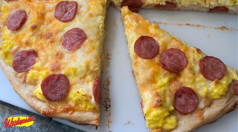 Polish Breakfast Pizza